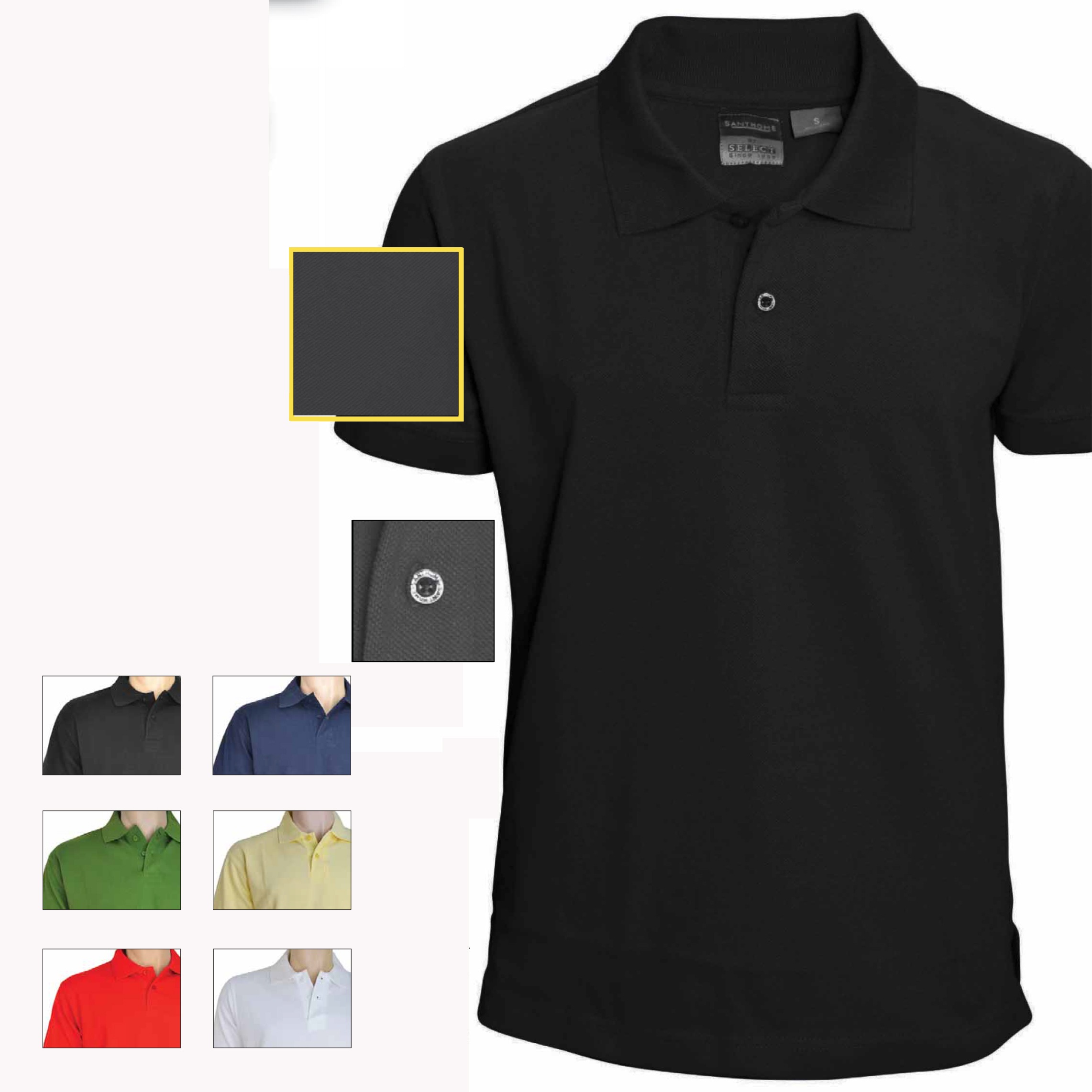 Cotton polo shirts brands gifts for All polo shirt brands