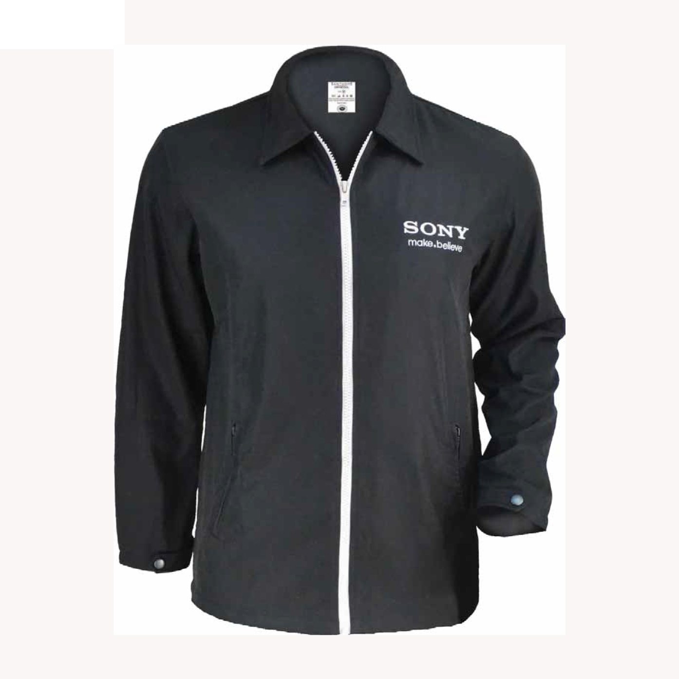 Customized Winter Jacket Sony Uniforms Brands Gifts