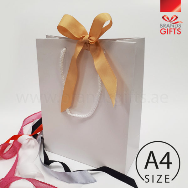 A4 Bags With Ribbon Wholesale Ready Made Laminated Bags